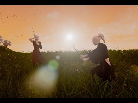 [UE4 Tech Demo]-03 Hatashiai – Realistic Samurai Sword Fighting Game – Shinkage-Ryu VS Jigen-Ryu