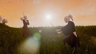 [UE4 Tech Demo]-03 Hatashiai - Realistic Samurai Sword Fighting Game - Shinkage-Ryu VS Jigen-Ryu