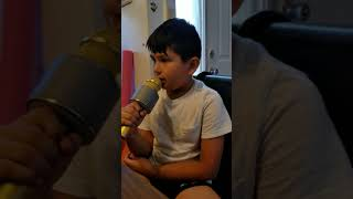 """Believer"" Sung By (8 Year Old) Tom"