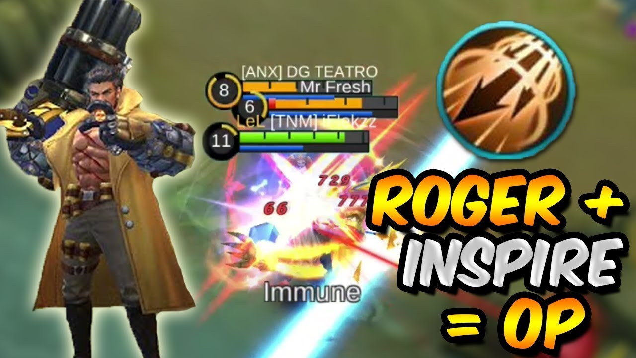 ROGER PERFECT GAMEPLAY WITH INSPIRE *OP*