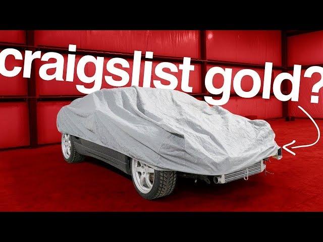 Buying A Dirt Cheap LEGENDARY Sports Car Off Craigslist (SIGHT UNSEEN!)