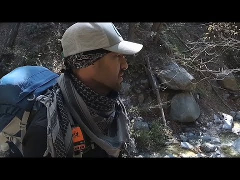 """IDLEHOUR TRAIL CAMP"", Solo backpacking Overnighter Angeles Forest"