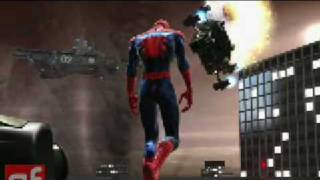 Spiderman Web of Shadows Trailer Wii PS3 Xbox 360