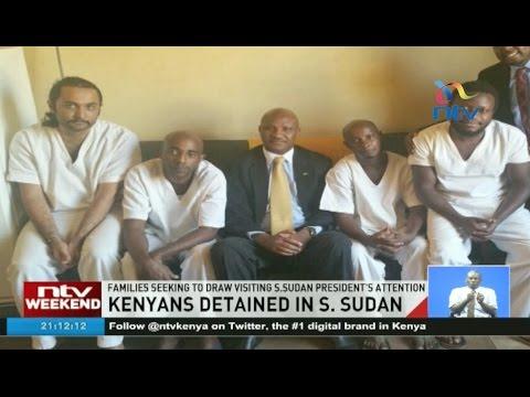 Families of 4 Kenyans jailed in S. Sudan hold vigil in Nairobi