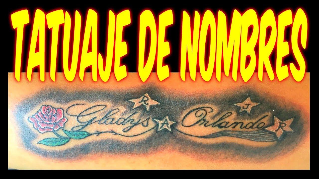 Como Hacer Tatuajes De Nombres En Antebrazo Time Lapse Tattoo