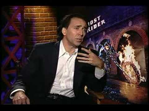 Ghost Rider Nicolas Cage interview