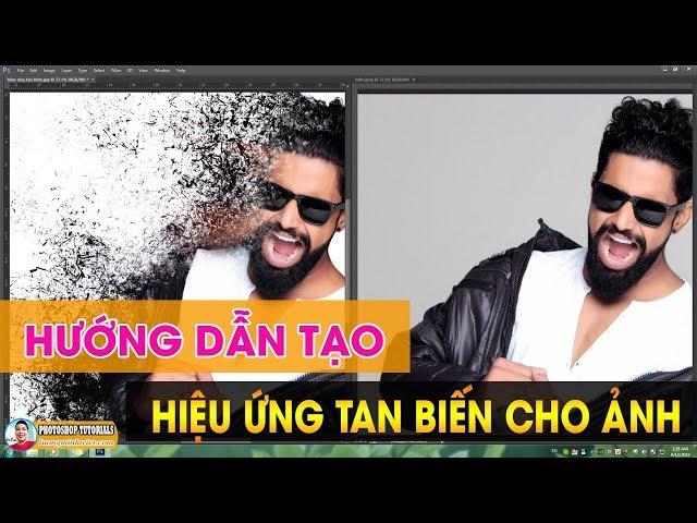 Hướng Dẫn Tạo Hiệu Ứng Tan Biến Cho Ảnh 🔴 MrTriet Photoshop Tutorials