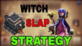 HOW TO USE WITCH SLAP STRATEGY AT TH9 ?? | TRY THIS IN WAR TO THREE STAR | CAPTAIN PRACHIR