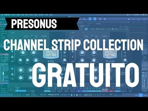 Presonus Channel Strip Collection: Plugin Gratuito do Studio One
