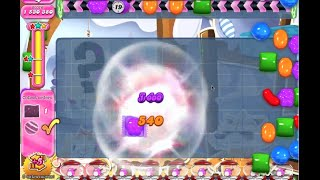 Candy Crush Saga Level 1244 with tips 3* No booster SWEET