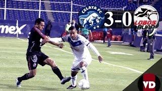 Resumen: Celaya FC 3-0 Lobos BUAP, Ascenso MX, CL2016, J8