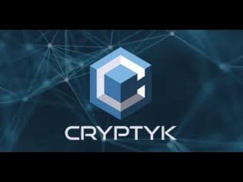 Cryptyk - ICO кибербезопасность и блокчейн.