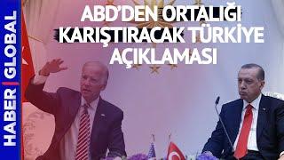 Erdoğan-Biden Görüşmesi Öncesi ABD'den Skandal Türkiye Açıklaması Geldi!