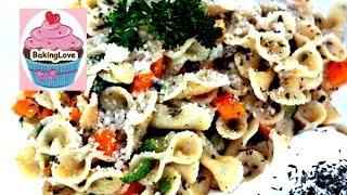 One pot Pasta / Zucchininudeln / Gemüsepasta / vegan / Nudelgericht