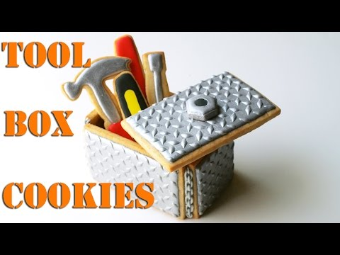 Tool Box Cookies For Father's Day!