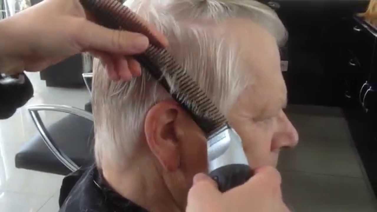 George Clooney Haircut Tutorial 2017 Razor Haircut Mens Haircut