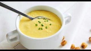 Li cozinha: Creme de milho verde super fácil