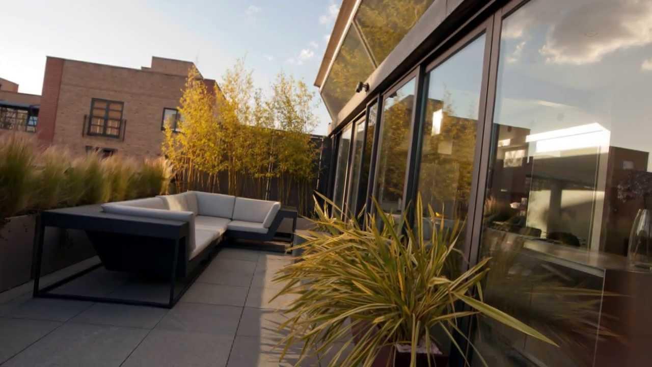 Contemporary urban roof garden in shoreditch by for Terrace 33 city garden