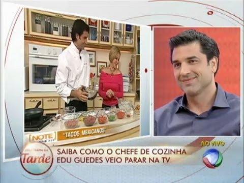 Chef Em Ação: Relembre As Aventuras Do Chef Edu Guedes