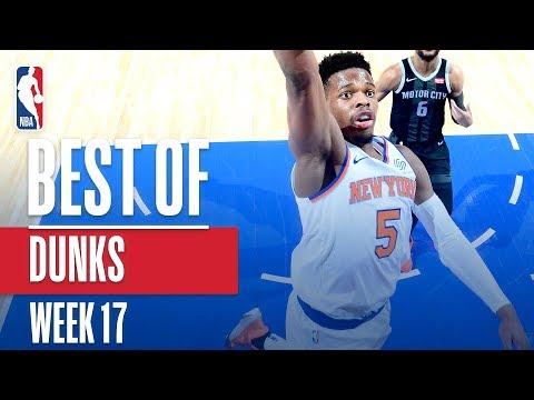NBA's Best Dunks | Week 17 thumbnail