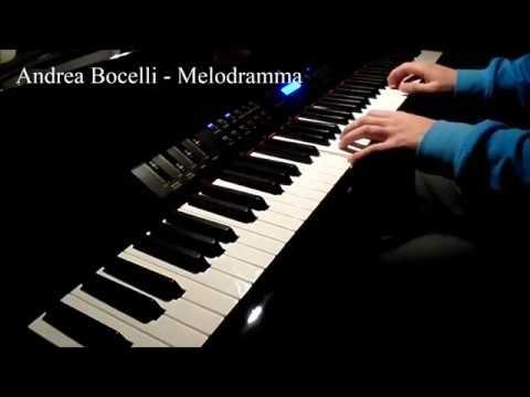 Andrea Bocelli - Melodramma (Piano cover)