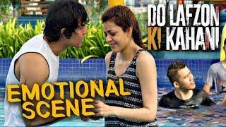 Randeep Hooda and Kajal Aggarwal in Water Park | Do Lafzon Ki Kahani | Emotional Scene | HD