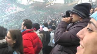 Napoli-pescara 5-1 02-12-2012  gol di hamsik live in hd dalla curva b