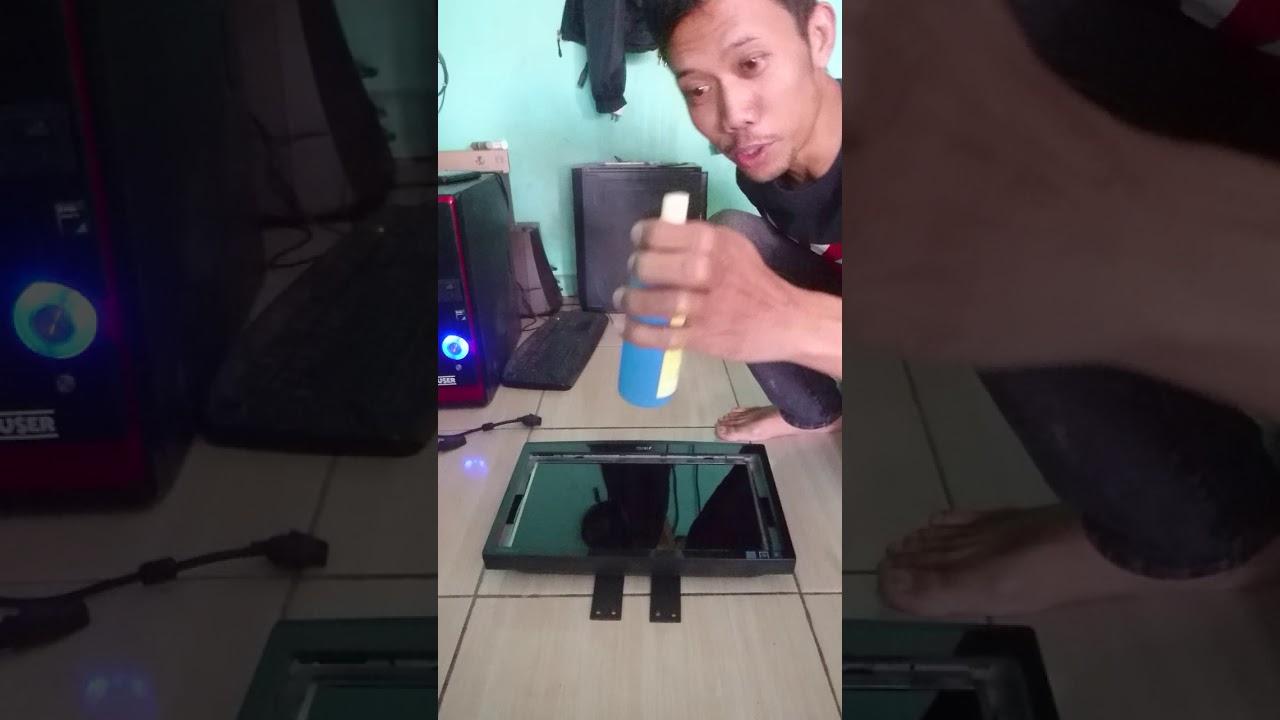 Cara memperbaiki monitor lcd bergaris