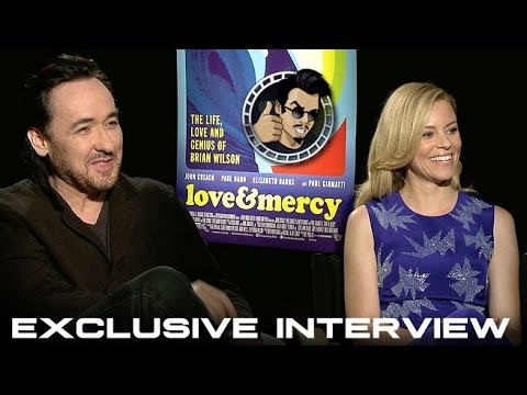 John Cusack and Elizabeth Banks Interview - Love & Mercy (HD) 2015