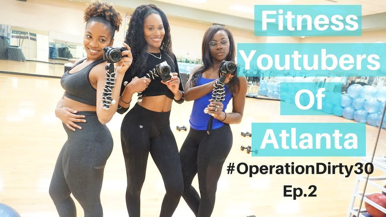 Black Fitness Youtubers of Atlanta Meetup! | Physique Update |DejaFitBeauty