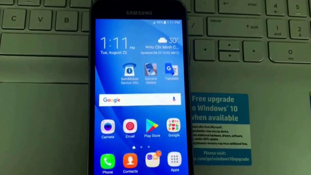 Unlock sim network Samsung Galaxy J3 2016 J320W8 Canada