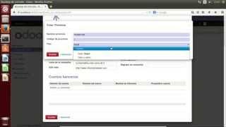 Instalar y usar Odoo 8.0 en Ubuntu 14.04