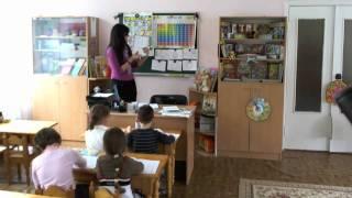 Урок английского в детском саду, часть 2