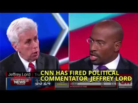 CNN Fires Political Commentator Jeffrey Lord