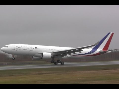 French Presidential Airplane - Touch and Go