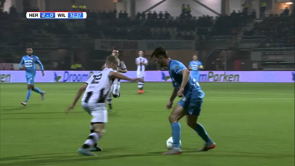 Heracles Almelo - Willem II 2-1 | 30-10-2015 | Samenvatting