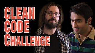 Clean code challenge - Silicon Valley Season 5, Ep6