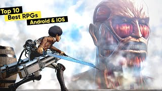 Top 10 Best RṖG Games for Android & iOS 2021 (MMORPGs | Anime Games | ARPG)