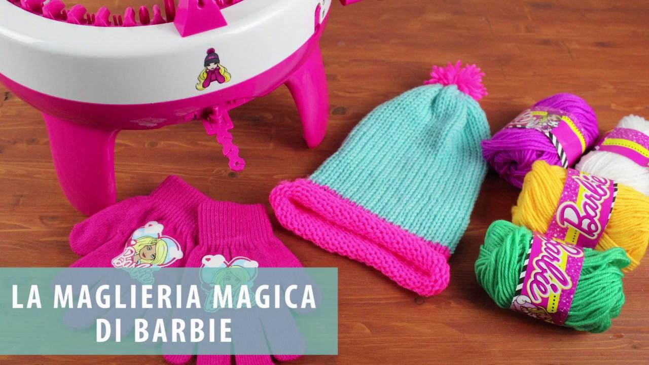 per tutta la famiglia design senza tempo moda Ho provato la MAGLIERIA Magica di Barbie - YouTube