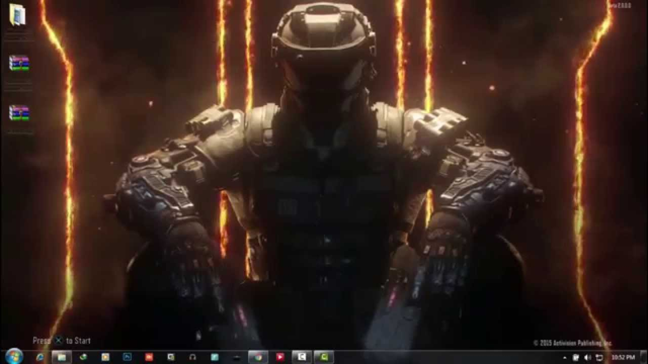 [ Tutorial ] How to Set Live Wallpaper in Windows 7 (Black Ops 3 Live wallpaper) 2015 HD - YouTube