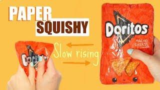 DORITOS PAPER SQUISHY   paper squishy #4