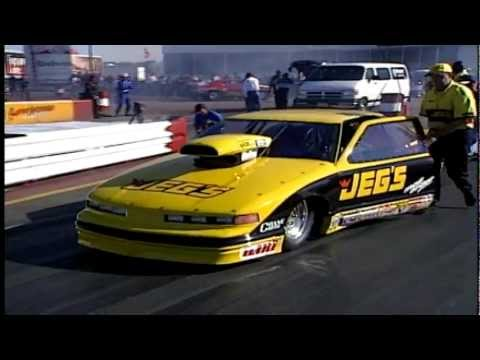 Jeg Coughlin Jr. 1997 Prostock Win At Houston JEGS High Performance