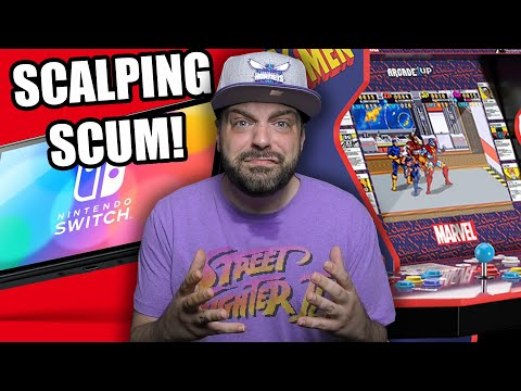 Nintendo Switch OLED Scalpers Are SCUM! + WTF Is Arcade1Up Doing?! from RGT 85