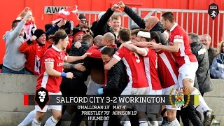 Salford City 3-2 Workington AFC - Northern Premier League play-off final