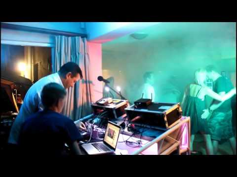 Guests take over as DJ's at Birthday Party (Video)