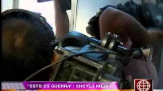 """Sheyla Rojas sobre lágrimas de Milett Figueroa: """"que haga show sola"""""""