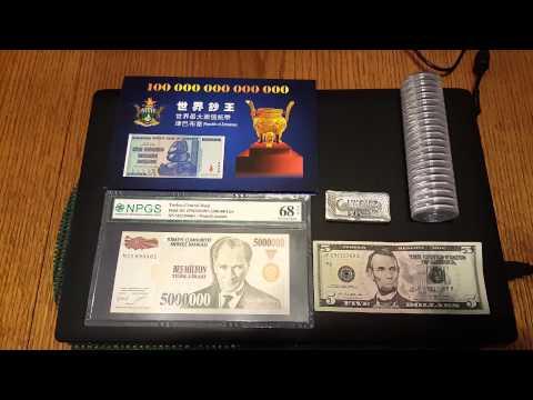 5,000,000 dollars vs silver bullion