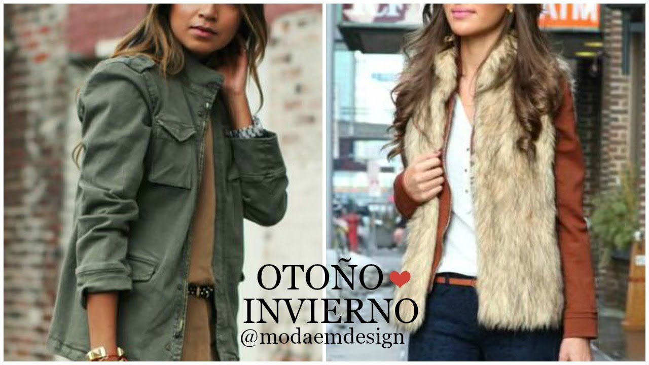Tendencias oto o invierno 2016 2017 outfits de moda for Moda de otono 2017