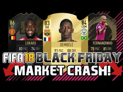 FIFA 18 BLACK FRIDAY MARKET CRASH TRADING TIPS | TRADING TO