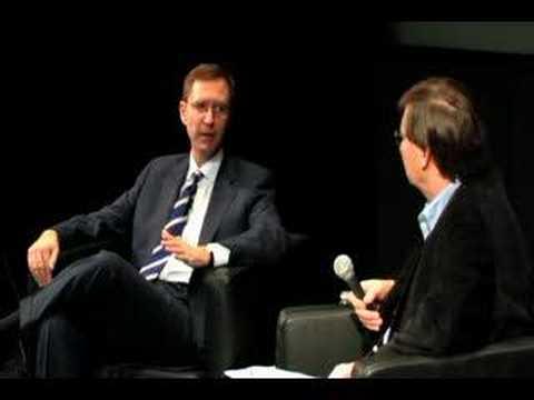 R. Glenn Hubbard and Hal Varian talk at Google